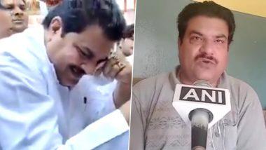 यूपी में गांधी प्रतिमा पर फूट-फूटकर रोने वाले सपा नेता फिरोज खान ने बीजेपी को बताया 'नौटंकी', कहा- उन्हें स्पष्ट करना चाहिए कि वह गांधी के समर्थन में हैं या गोडसे के
