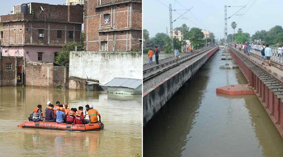 बिहार में बाढ़ से अब तक 73 लोगों की मौत, खतरे के निशान से ऊपर बह रही पुनपुन नदी, पटना-गया रेल सेवा रद्द