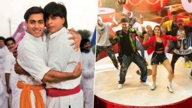 सलमान खान-शाहरुख खान के सॉन्ग 'भांगड़ा पा ले' का नया वर्जन हुआ रिलीज, आपने सुना क्या?