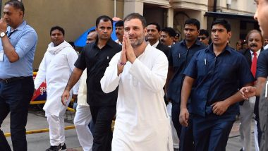 मानहानि केस: सूरत कोर्ट में पेश हुए राहुल गांधी, कहा- मेरे सियासी विरोधी मुझे चुप कराने की कोशिश कर रहे हैं