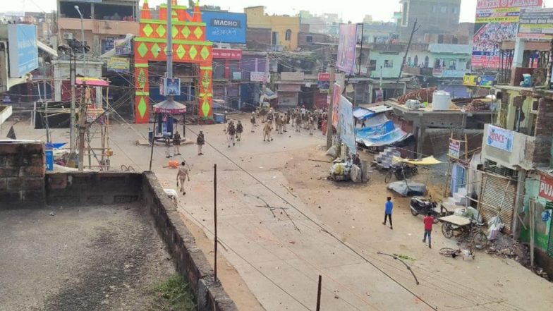 बिहार: जहानाबाद में हिंसा के बाद पुलिस लगातार कर रही गश्त, 50 से अधिक उपद्रवी गिरफ्तार