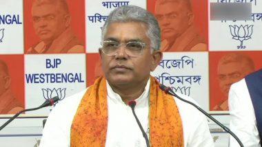 पश्चिम बंगाल बीजेपी अध्यक्ष दिलीप घोष ने कहा- जो लोग बीफ खाते हैं उन्हें कुत्ते का मांस भी खाना चाहिए