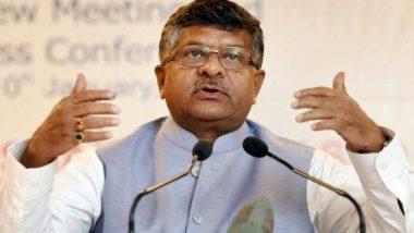 केंद्रीय मंत्री रविशंकर प्रसाद का यू-टर्न, मंदी पर फिल्मों से जुड़ा बयान वापस लेते हुए कहा- संवेदनशील इंसान हूं
