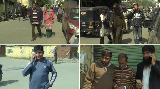 जम्मू-कश्मीर में 72 दिन बाद पोस्टपेड मोबाइल सेवा हुई बहाल, लोगों में देखी गई खुशी