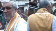 पटना के PMCH में डेंगू मरीजों से मिलने पहुंचे केंद्रीय मंत्री अश्विनी चौबे पर शख्स ने फेंकी स्याही, देखें Video
