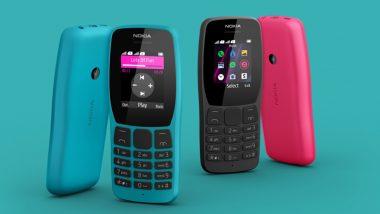 Nokia 110 फीचर फोन भारत में लॉन्च, जानिए इसकी कीमत