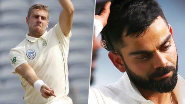 टेस्ट क्रिकेट में विराट कोहली के रूप में पहली सफलता प्राप्त करने वाले दक्षिण अफ्रीका के तीसरे गेंदबाज बनें एनरिक नोर्टजे
