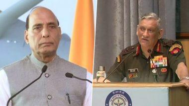 भारतीय सेना की कार्रवाई से तिलमिलायापाकिस्तान, कश्मीर में LOC पर मौजूदा हालात को लेकर राजनाथ सिंह ने की आर्मी चीफबिपिन रावत से बात