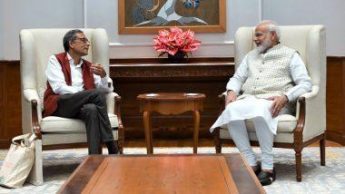 पीएम मोदी ने की नोबेल पुरस्कार विजेता अर्थशास्त्री अभिजीत बनर्जी से मुलाकात, कहा- भारत को उनकी उपलब्धियों पर गर्व