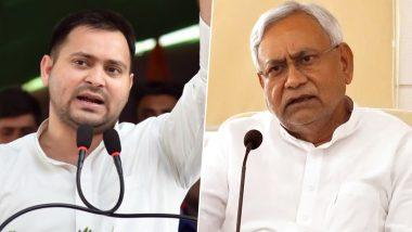 बिहार: तेजस्वी ने नीतीश की 'हरियाली यात्रा' पर कसा तंज, कहा- अपराध हटाओ, बेरोजगारी भगाओ यात्रा क्यों नहीं निकालते?
