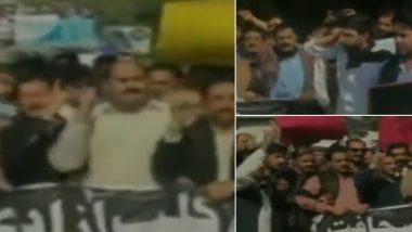 इमरान खान की सेना के खिलाफ पाकिस्तानी पत्रकारों ने खोला मोर्चा, PoK में किया जबरदस्त विरोध प्रदर्शन