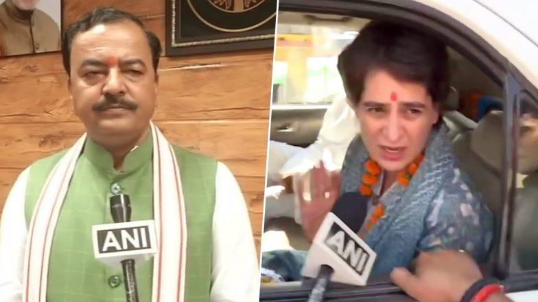 उत्तर प्रदेश के डिप्टी सीएम केशव प्रसाद मौर्य का तंज, कहा- आखिर प्रियंका गांधी में ऐसा है क्या जो सरकार उनका WhatsApp हैक करने की जहमत उठाएगी