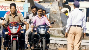 ट्रैफिक पुलिस ने महिला को भेजी गंदी फिल्म, डिपार्टमेंट ने किया ये