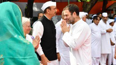राहुल गांधी को लेकर कांग्रेस में मचा घमासान, आपस में भिड़े पार्टी के वरिष्ठ नेता