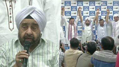 दिल्ली में कांग्रेस को झटका, चार बार चांदनी चौक से विधायक रहे प्रहलाद सिंह साहनी हुए 'आप' में शामिल
