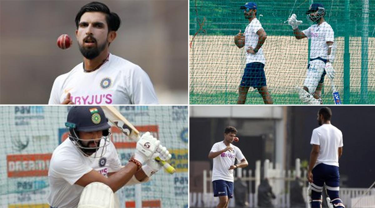IND vs SA 3rd Test Match 2019: रांची में भारतीय धुरंधरो ने बहाया जमकर पसीना, देखें तस्वीर