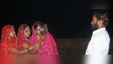 मध्यप्रदेश: सतना में 3 बहनों ने अपने एक पति के लिए मिलकर रखा करवाचौथ का व्रत, सोशल मीडिया पर तस्वीर हुई वायरल