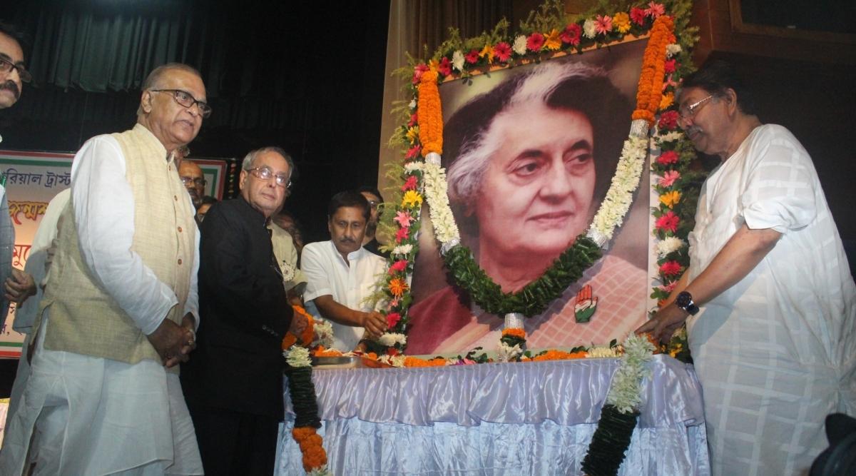 कांग्रेस ने पूर्व प्रधानमंत्री इंदिरा गांधी की पुण्यतिथि पर अर्पित की श्रद्धांजलि