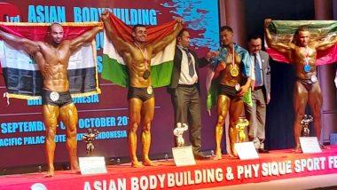 भारतीय सेना के मेजर अब्दुल कादिर खान ने एशियन बॉडी बिल्डिंग चैंपियनशिप में जीता रजत पदक