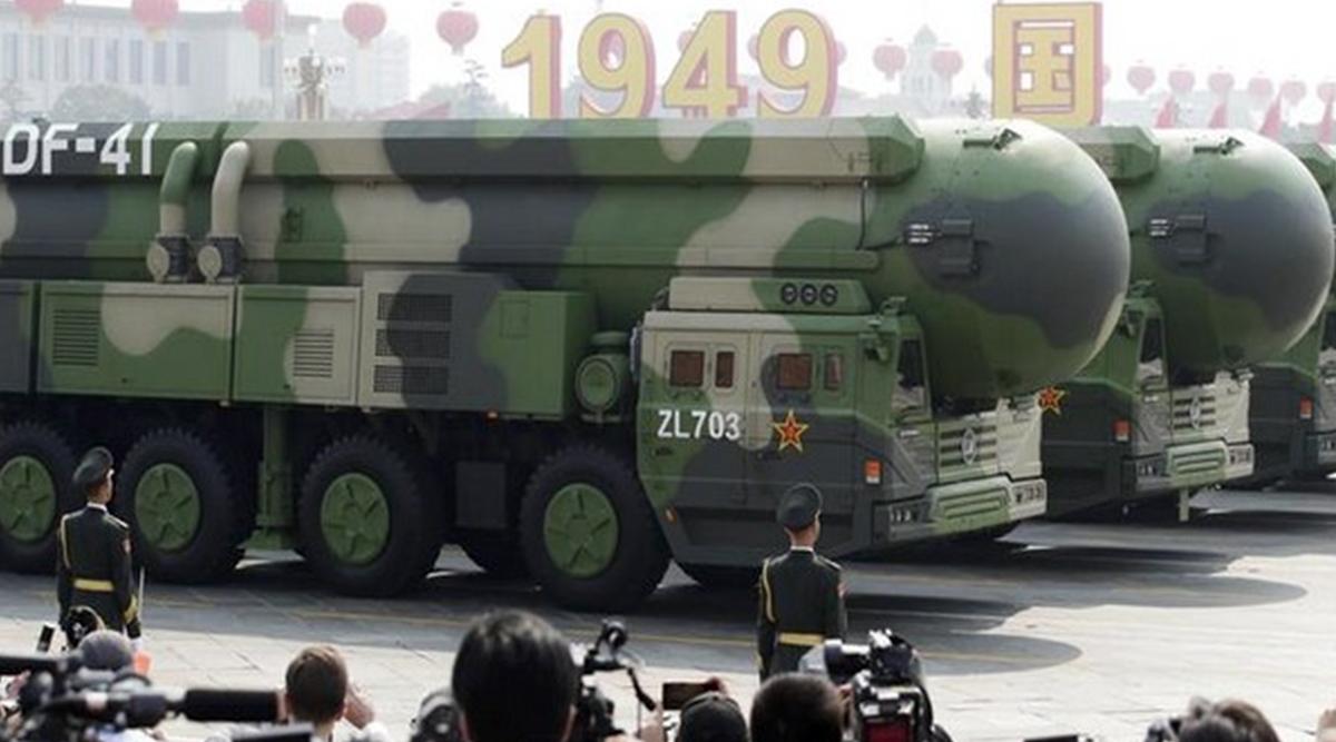 चीन ने नेशनल डे पर सैन्य परेड में दिखाई अपनी ताकत, DF-41 महज US के किसी भी शहर को 30 मिनट में बना सकेगा निशाना