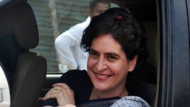 कांग्रेस महासचिव प्रियंका गांधी वाड्रा ने अजय चौटाला की जेल से छुट्टी को लेकर सरकार की निंदा की