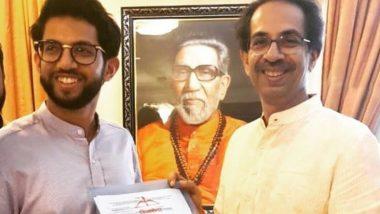महाराष्ट्र विधानसभा चुनाव 2019: शिवसेना ने जारी की 70 उम्मीदवारों की पहली लिस्ट, आदित्य ठाकरे वर्ली से होंगे मैदान में