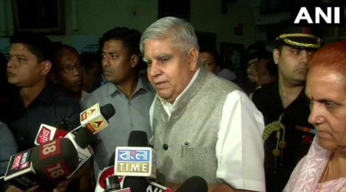 पश्चिम बंगाल: बैठक में शामिल होने से सरकारी अधिकारियों के किया इनकार, राज्यपाल जगदीप धनखड़ ने कहा- ऐसा लगता है कि किसी प्रकार की सेंसरशिप है
