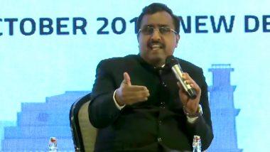 बीजेपी महासचिव राम माधव ने भरा दम, कहा- पाकिस्तान आतंकियों को घुसाने की कर रहा है कोशिश, हमारी सेना ने दिया करारा जवाब