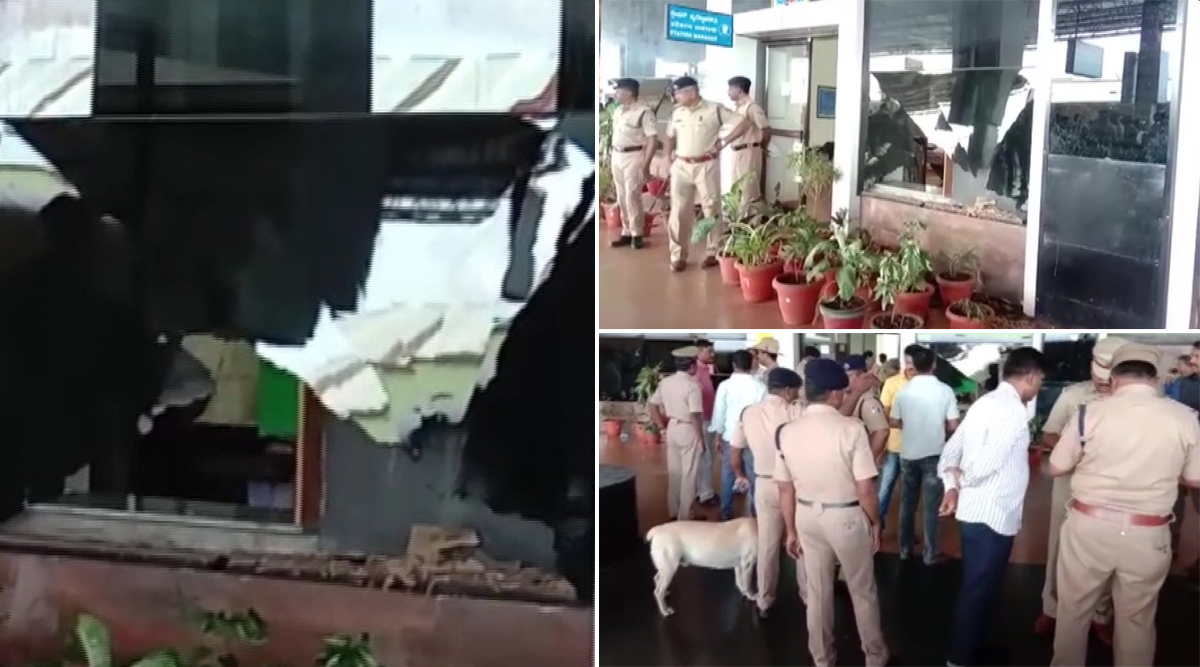 कर्नाटक: हुबली रेलवे स्टेशन पर धमाका, एक शख्स घायल