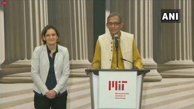 नोबेल विजेता अभिजीत बनर्जी ने कहा-गरीबी पर किए गए काम को पहचान मिलने से खुश