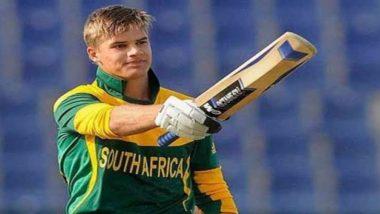 दक्षिण अफ्रीका के सलामी बल्लेबाज एडेन मार्कराम को मुक्का मारना भारी पड़ा, चोट के कारण रांची टेस्ट से हुए बाहर