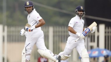 India vs South Africa 3rd Test Match 2019 Day-2 Live Score Updates: अजिंक्य रहाणे अपने 11वें शतक से महज कुछ रन दूर