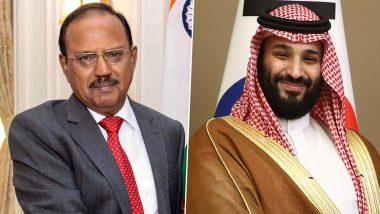 NSA अजित डोभाल ने सऊदी प्रिंस सलमान से की मुलाकात, कश्मीर पर जहर उगल रहे इमरान खान की खोली पोल