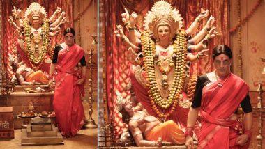 साड़ी पहने दिखाई दिए अक्षय कुमार, नवरात्रि के मौके पर फिल्म लक्ष्मी बम से चौंकाने वाला पोस्टर किया शेयर