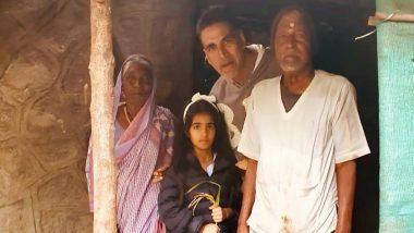 अक्षय कुमार ने बेटी नितारा के साथ बूढ़े कपल की झोपड़ी में खाया खाना, फोटो शेयर करके कह दी बड़ी बात