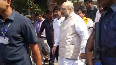 गृहमंत्री अमित शाह ने की 'गांधी संकल्प यात्रा' की शुरुआत, कहा- महात्मा गांधी ने सत्याग्रह से अंग्रेजों को उनके घुटनों पर ला दिया था