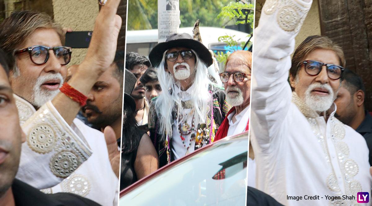 अमिताभ बच्चन के जन्मदिन पर घर के बाहर उमड़ा फैंस का सैलाब, महानायक ने की मुलाकात