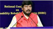 Ramdas Athawale Tests Positive For COVID-19: केंद्रीय मंत्री रामदास अठावले कोरोना पॉजिटिव, अस्पताल में किया गया भर्ती