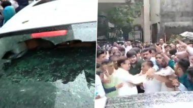 महाराष्ट्र विधानसभा चुनाव 2019: बीजेपी ने काटा दिग्गज प्रकाश मेहता का टिकट तो कार्यकर्ताओं ने किया हंगामा, पार्टी प्रत्याशी पराग मेहता की गाड़ी पर किया हमला