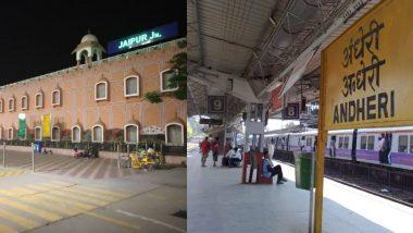 भारत का सबसे स्वच्छ रेलवे स्टेशन बना जयपुर, उपनगरीय श्रेणी में मुंबई का अंधेरी स्टेशन ने मारी बाजी