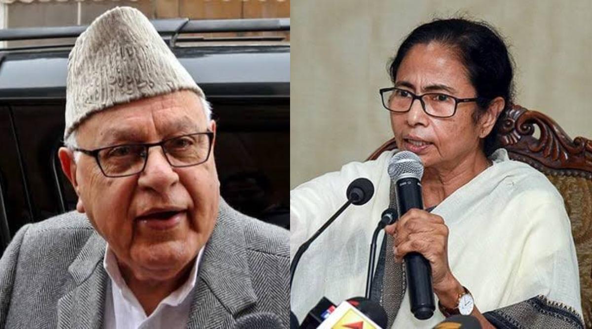 पश्चिम बंगाल की सीएम ममता बनर्जी ने नेशनल कांफ्रेंस के अध्यक्ष फारूक अब्दुल्ला को दिलाया भरोसा, कहा-मुश्किल समय में साथ खड़े होंगे
