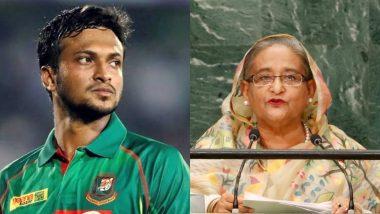 बांग्लादेश की प्रधानमंत्री शेख हसीना ने कहा- क्रिकेटर शाकिब अल हसन को अपनी गलती का अहसास है