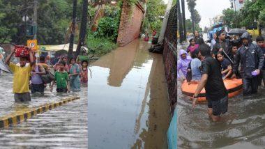 पटना को 'कुव्यवस्था' ने डूबाया, सरकार भी 'पानी-पानी'