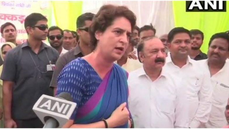 उत्तर प्रदेश: कांग्रेस महासचिव प्रियंका गांधी वाड्रा ने स्वाति सिंह के मुद्दे पर की योगी सरकार की निंदा