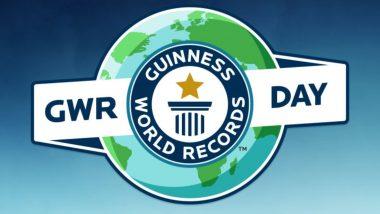 वर्ल्ड रिकॉर्ड बनाकर 5 हजार छात्रों ने राष्ट्रपिता महात्मा गांधी को किया याद, गिनीज बुक में दर्ज होगा नाम