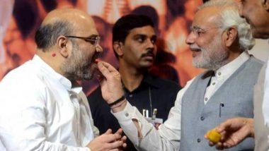 55 साल के हुए केंद्रीय गृहमंत्री अमित शाह, पीएम मोदी ने राजनीति के 'चाणक्य' को ऐसे किया विश