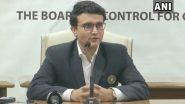 लॉडर्स पर बीसीसीआई अध्यक्ष के तौर पर वापसी कर खुश हूं: सौरव गांगुली