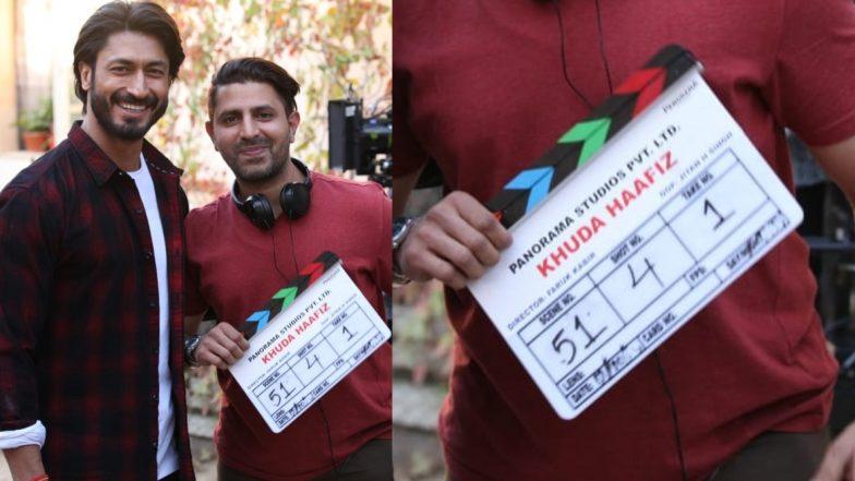 विद्युत जामवाल ने की 'खुदा हाफिज' की शूटिग शुरू, सोशल मीडिया पर शेयर की तस्वीरें