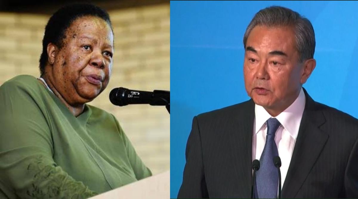 चीन के स्टेट काउंसलर वांग यी और दक्षिण अफ्रीका की मंत्री नालेदी पंडोर ने डरबन में की द्विपक्षीय बातचीत, सहयोग बढ़ाने का लिया संकल्प