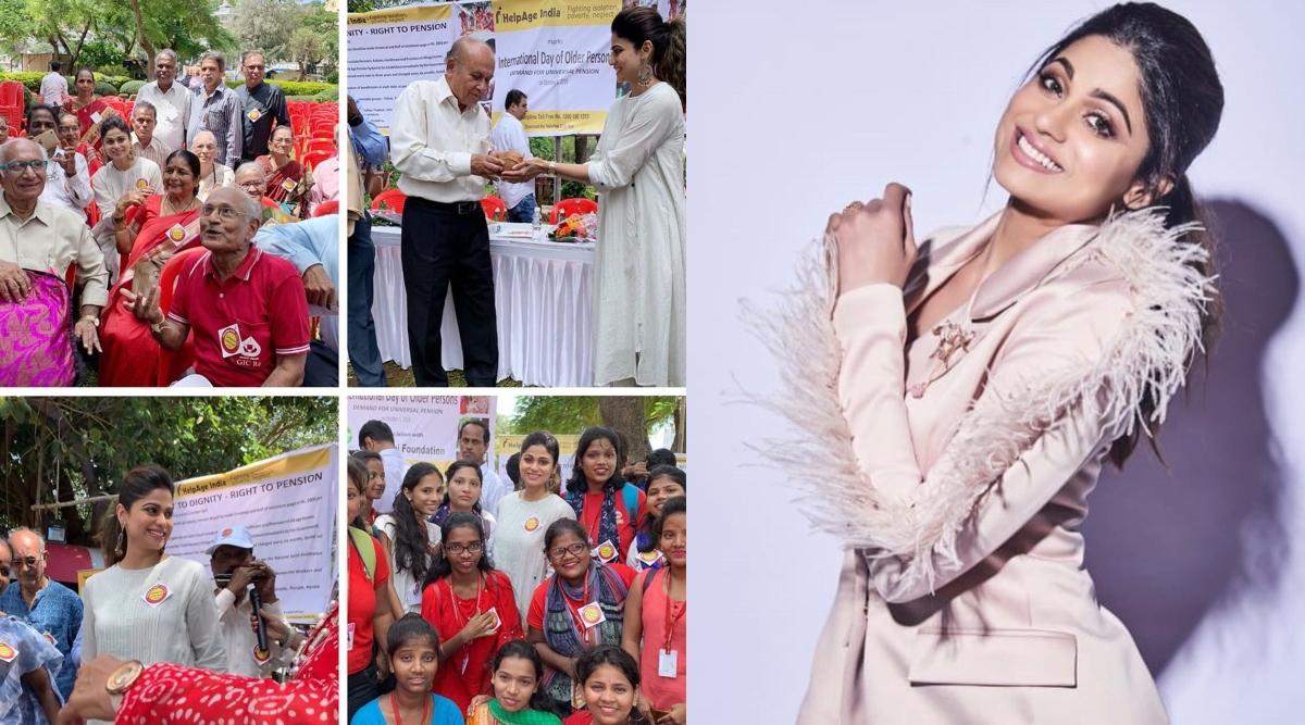'हेल्प एज इंडिया' NGO से जुड़ी शमिता शेट्टी, सरकार से की बुजुर्गों के पेंशन बढ़ाने की मांग